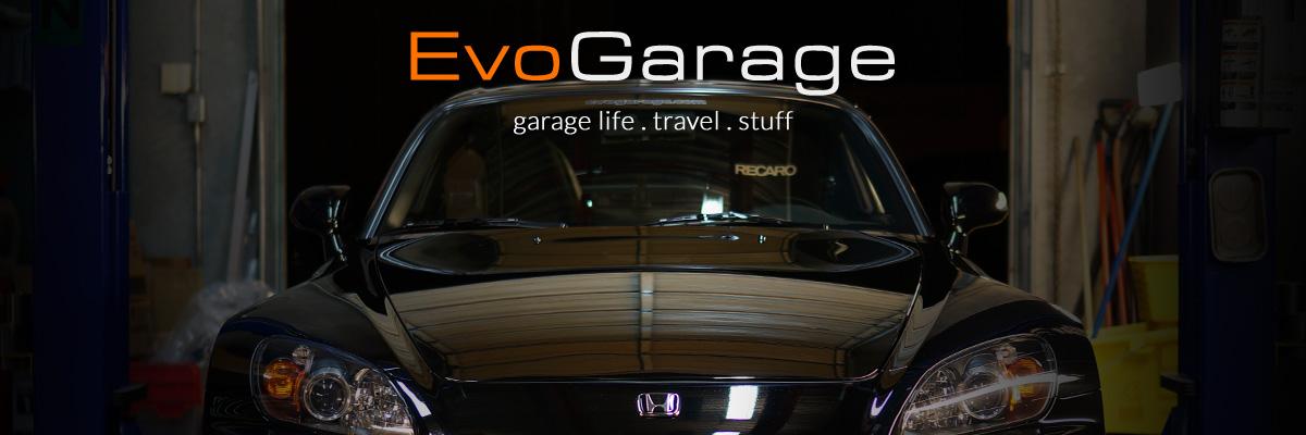 Evo Garage | SCRAPBOOK