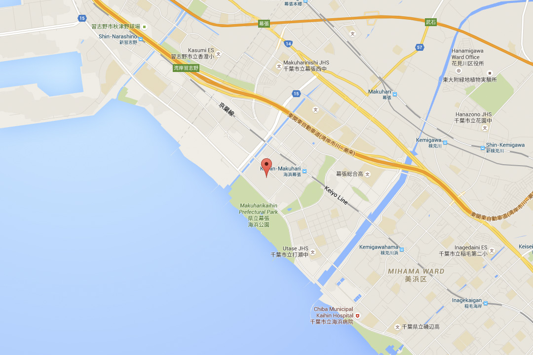 LOCATION MAKUHARI MESSE