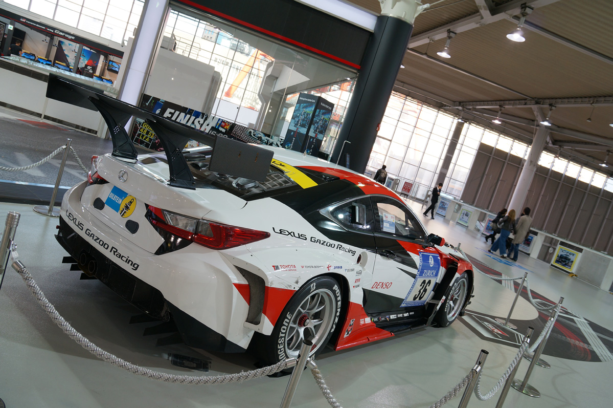 lexus rc f gazoo racing gt500