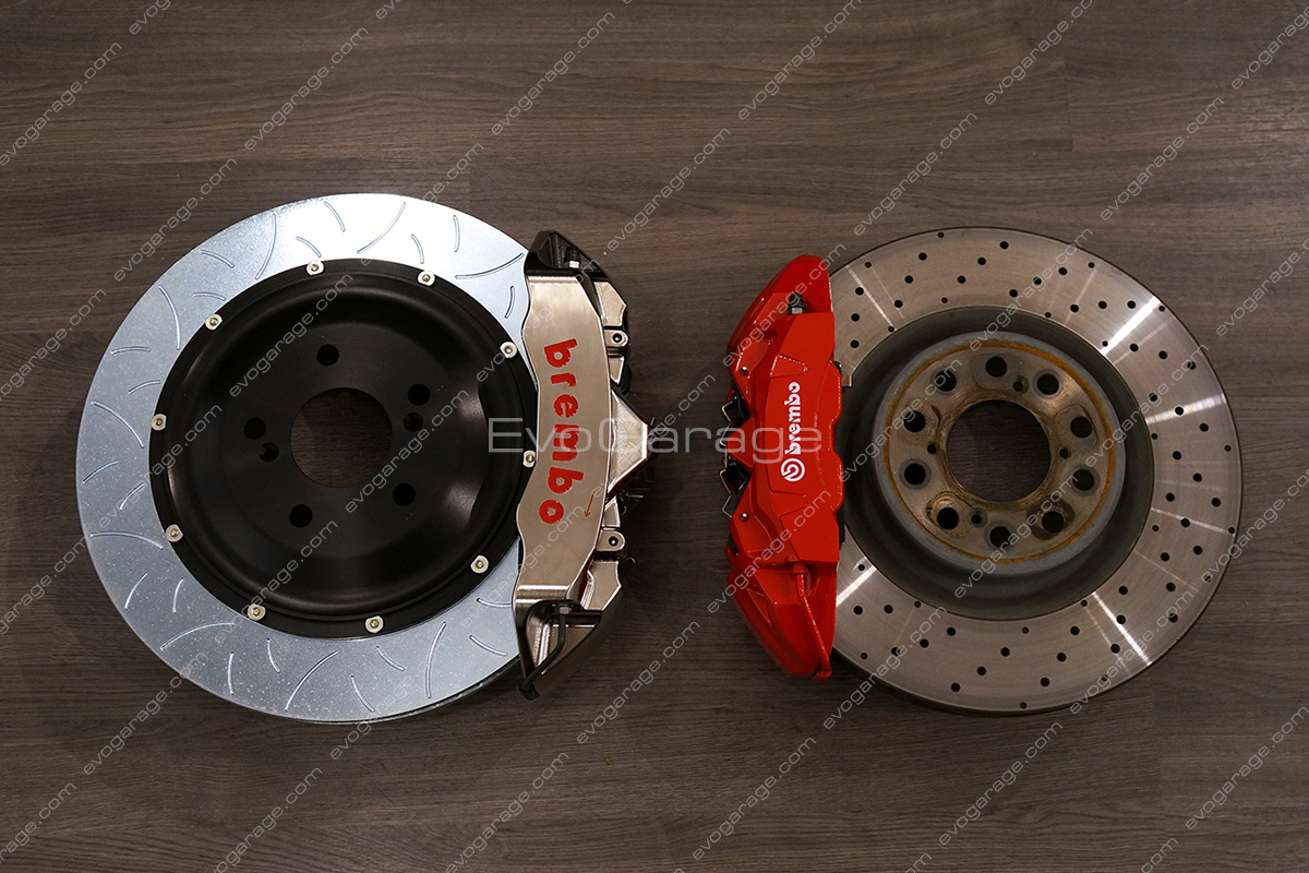 brembo gt-r braking system fk8 civic type-r